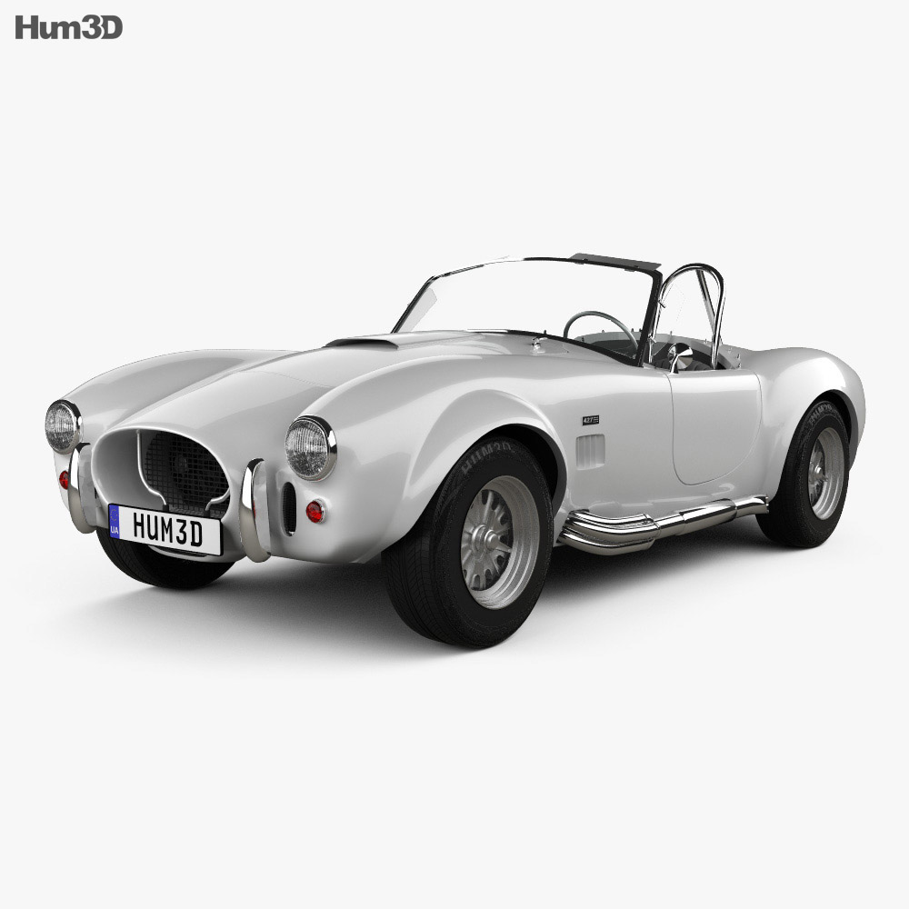 3D model of AC Shelby Cobra 427 1965