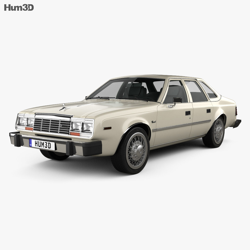 AMC Concord Sedan 1980 3D Model