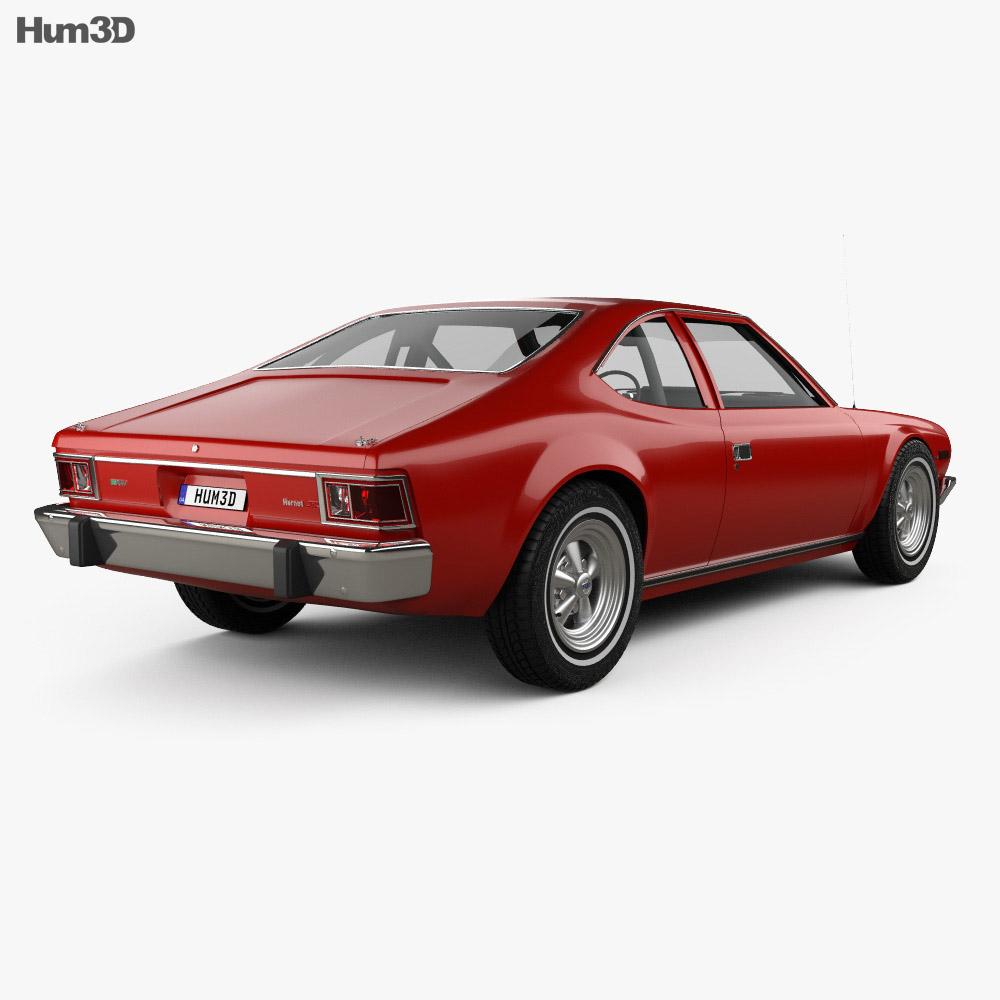 AMC Hornet 3-door 1974 3d model