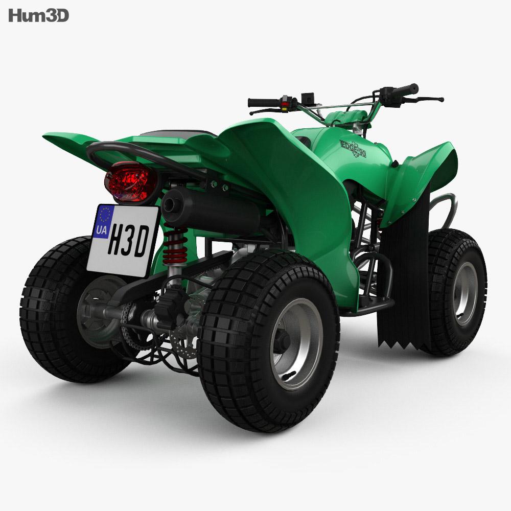 APC Edge 90 ATV 2018 3d model