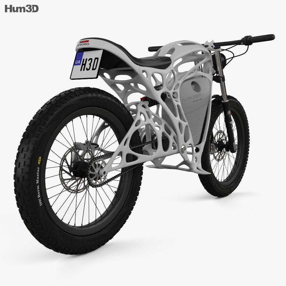APWorks Light Rider 2016 3d model