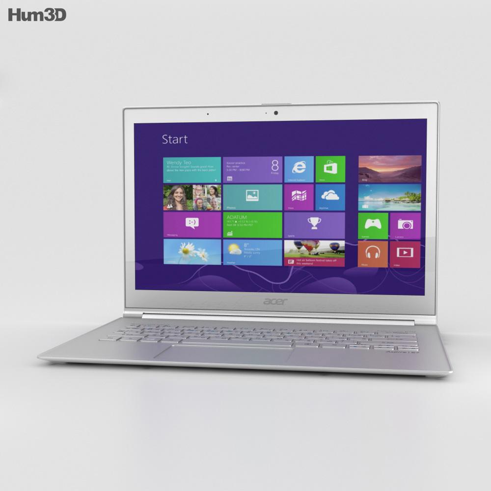Acer Aspire S7 3d model