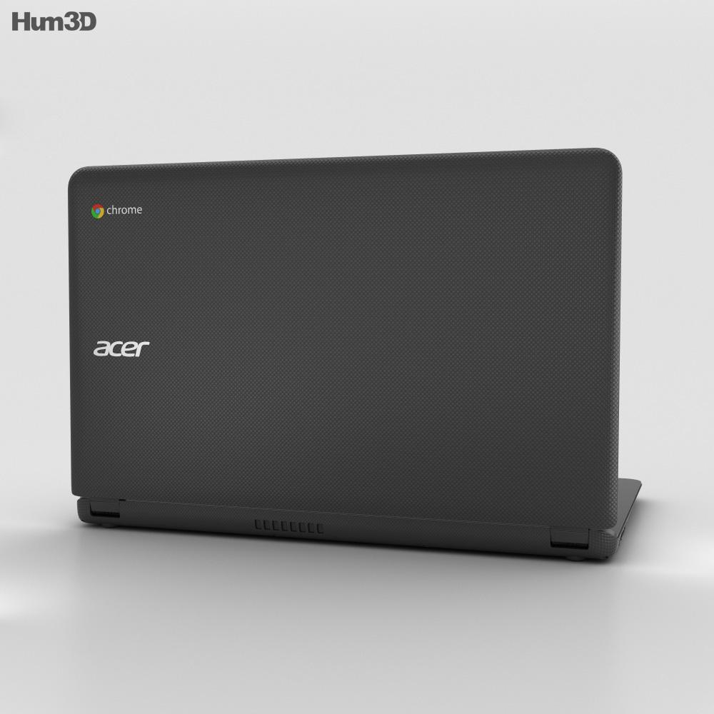 Acer Chromebook 15 Black 3d model
