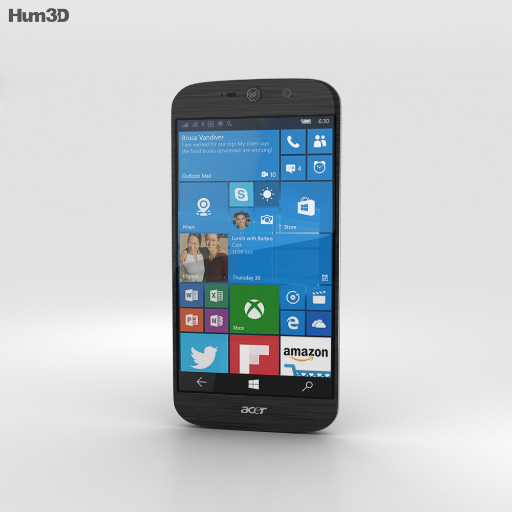 Acer Liquid Jade Primo Black 3d model