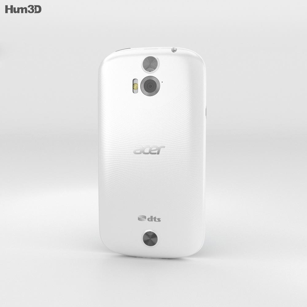 Acer Liquid E1 White 3d model