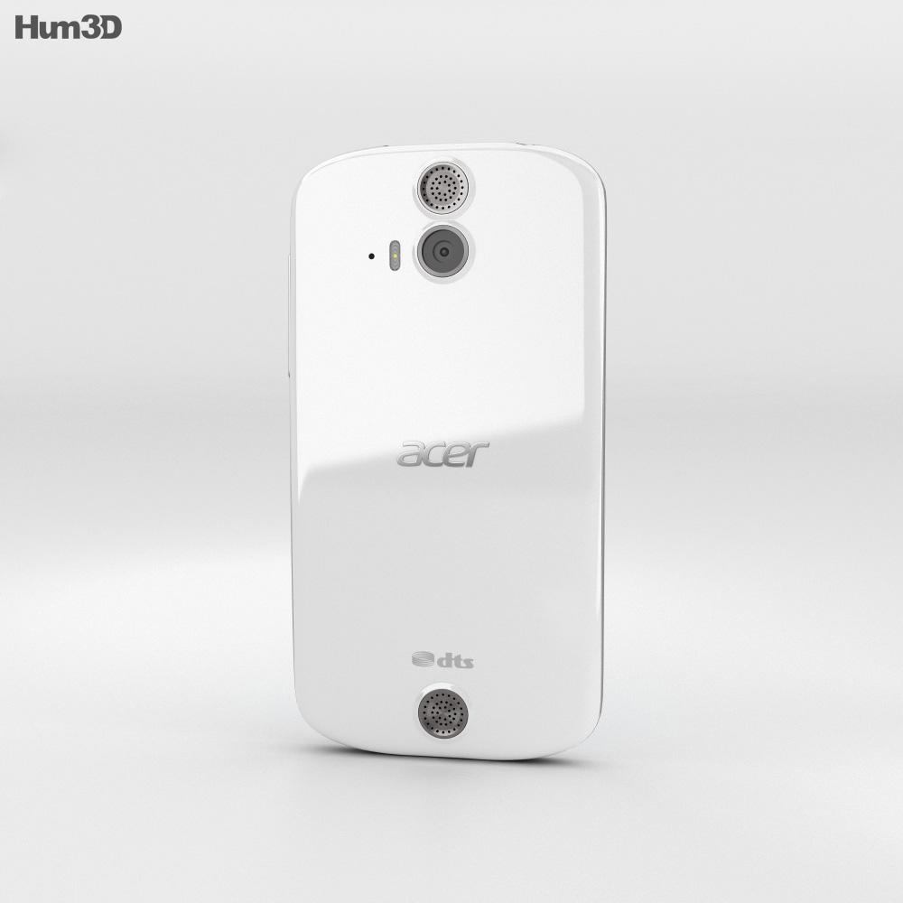 Acer Liquid E2 White 3d model