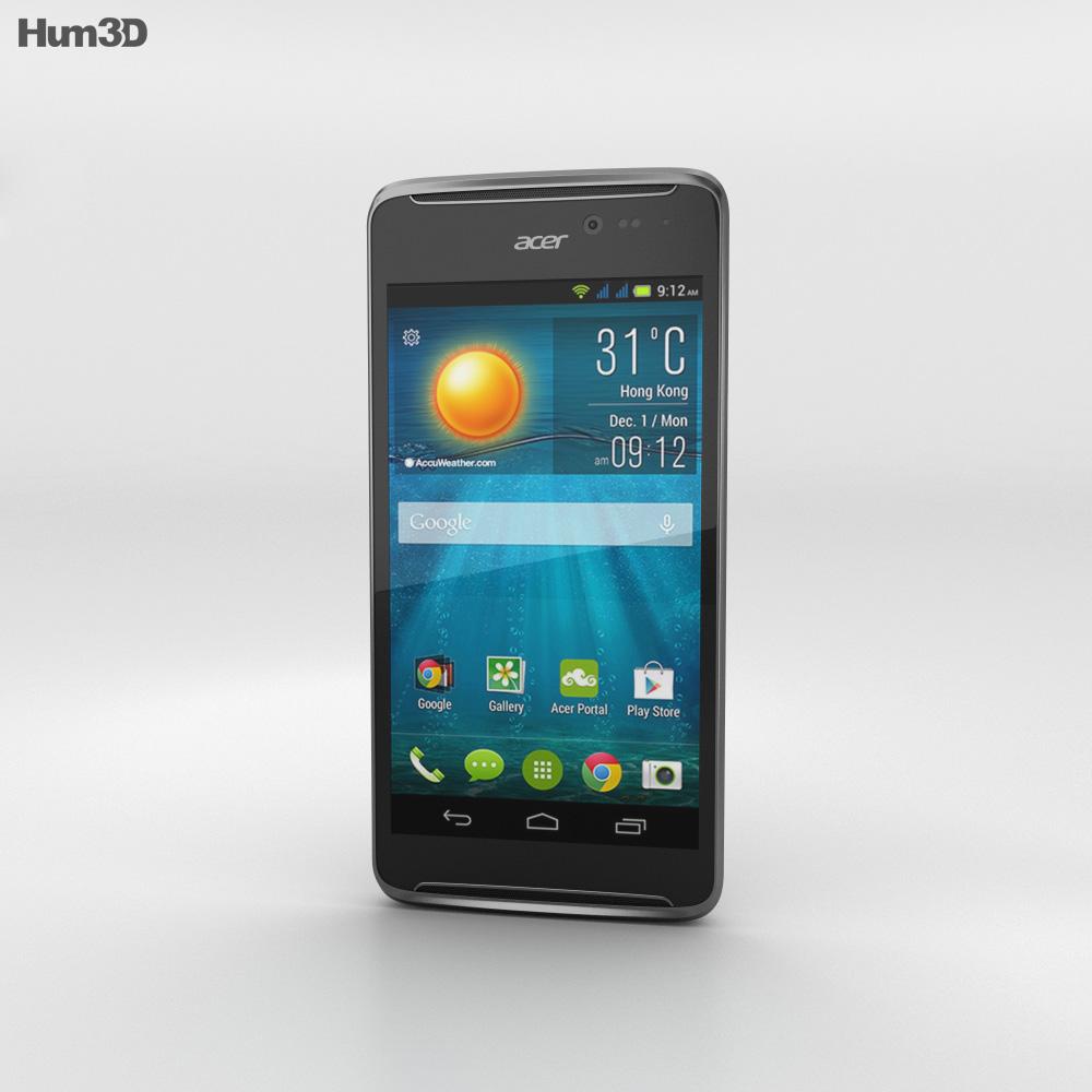 Acer Liquid E600 Black 3d model