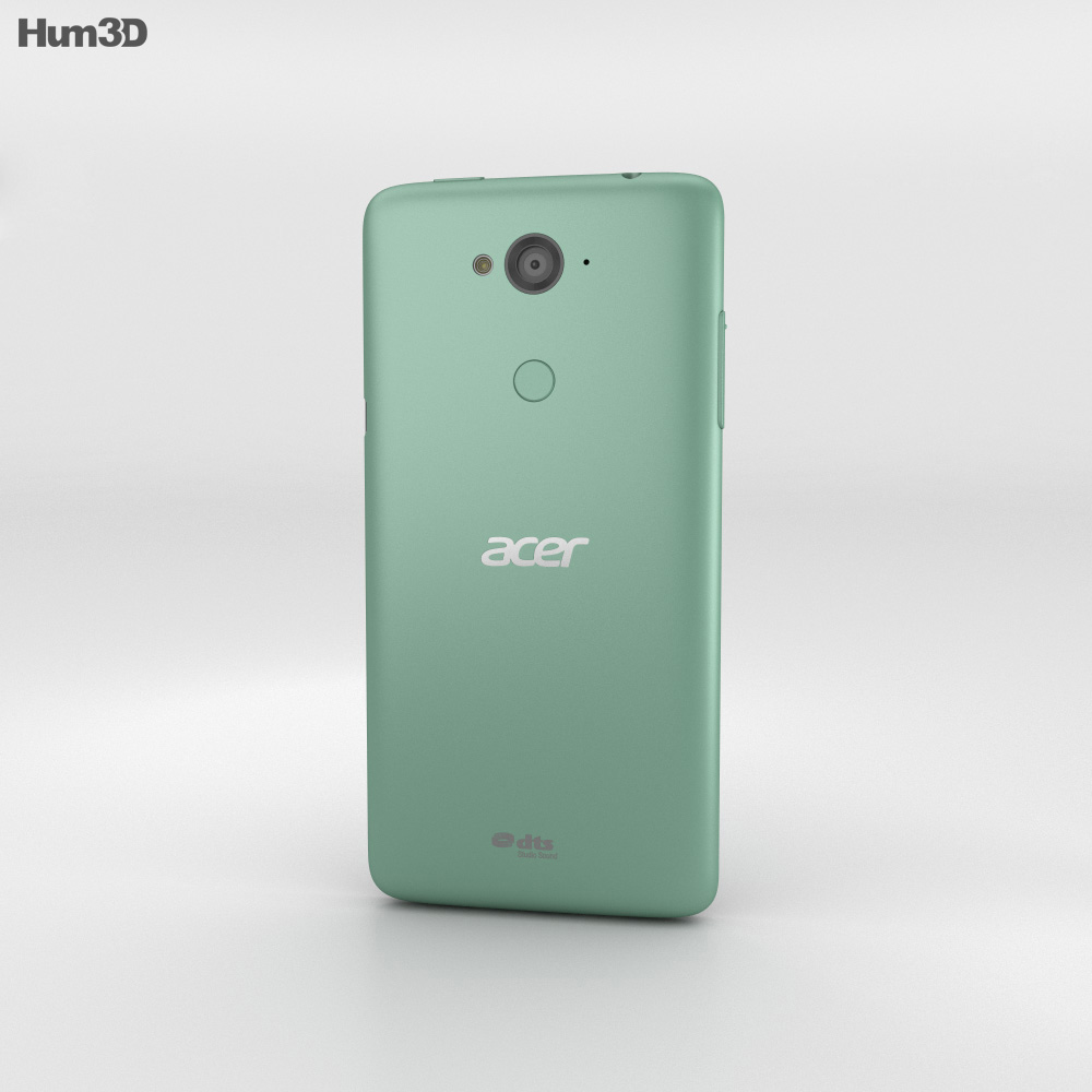 Acer Liquid E600 Green 3d model