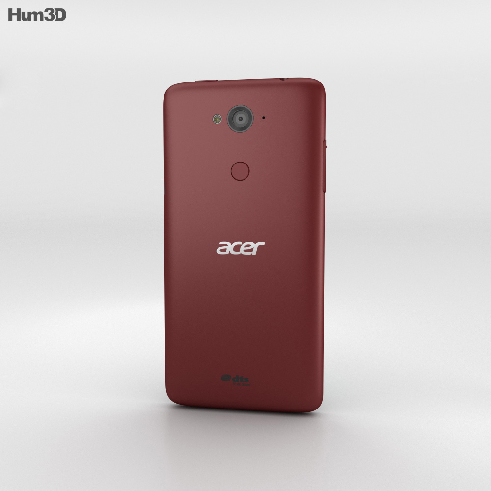 Acer Liquid E600 Dark Red 3d model