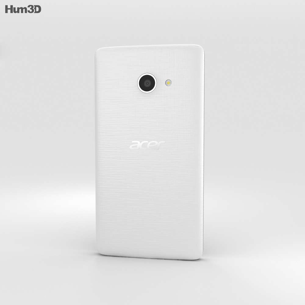 Acer Liquid M220 Pure White 3d model