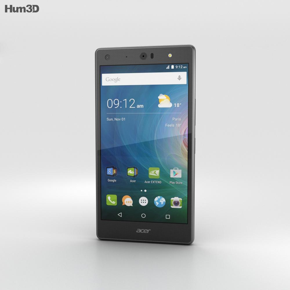 Acer Liquid X2 Black 3d model