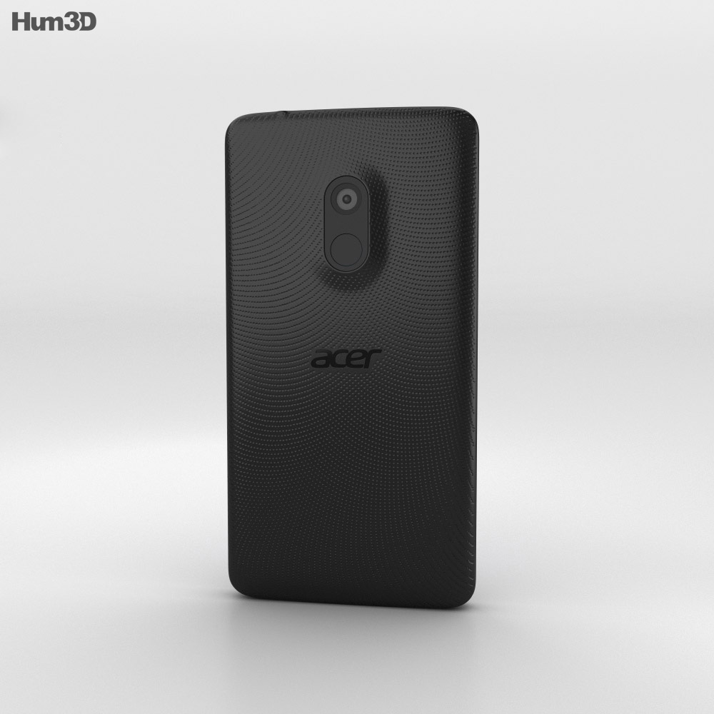 Acer Liquid Z200 Titanium Black 3d model