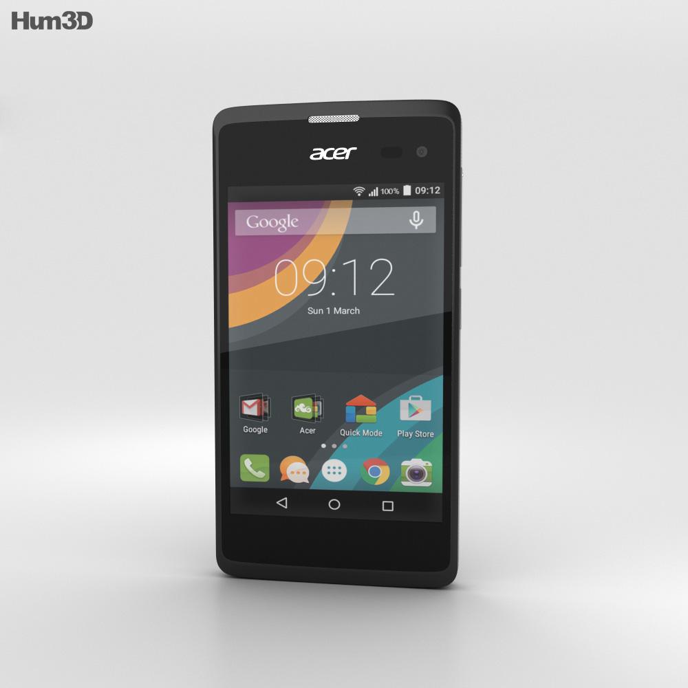 Acer Liquid Z220 Black 3d model