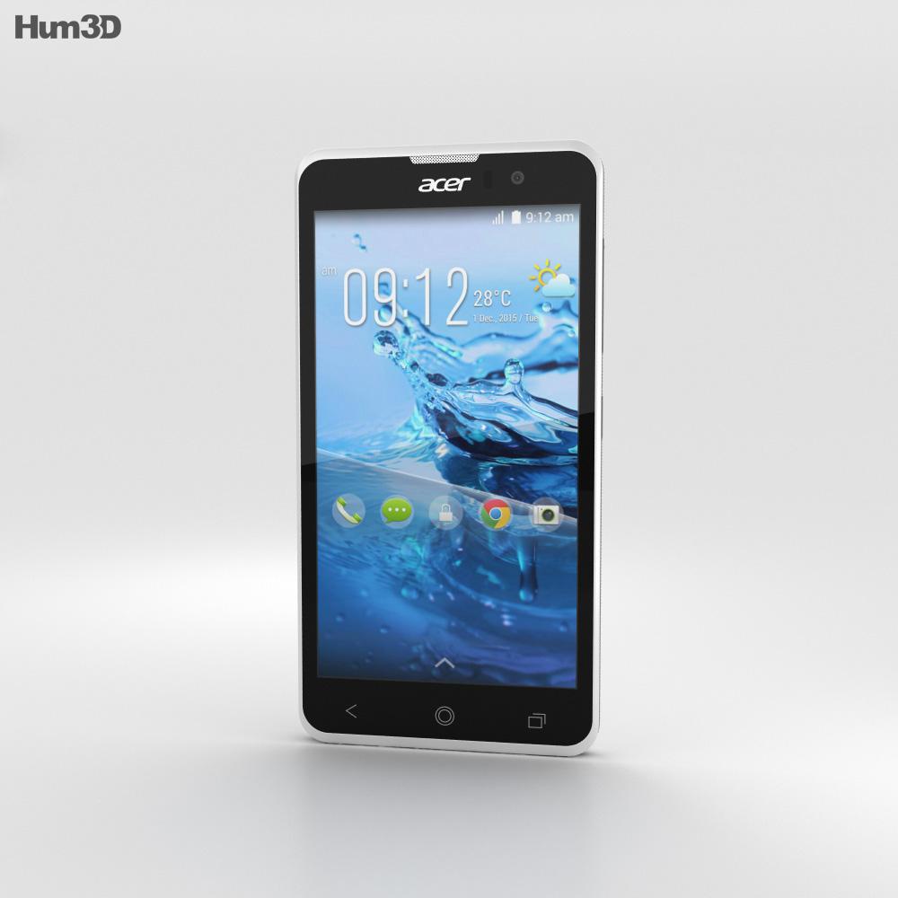 Acer Liquid Z520 White 3d model