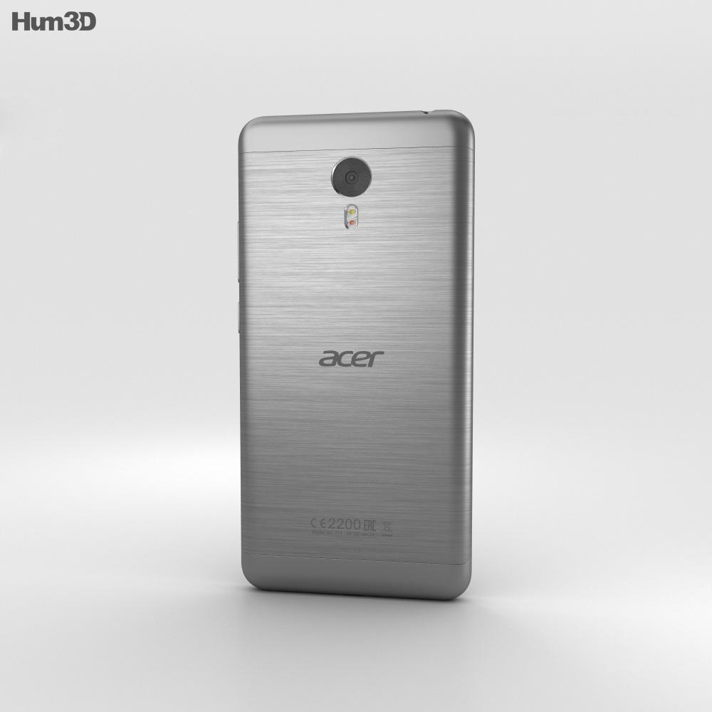 Acer Liquid Z6 Plus Gray 3d model