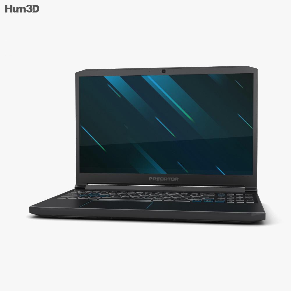Acer Predator Helios 300 3d model