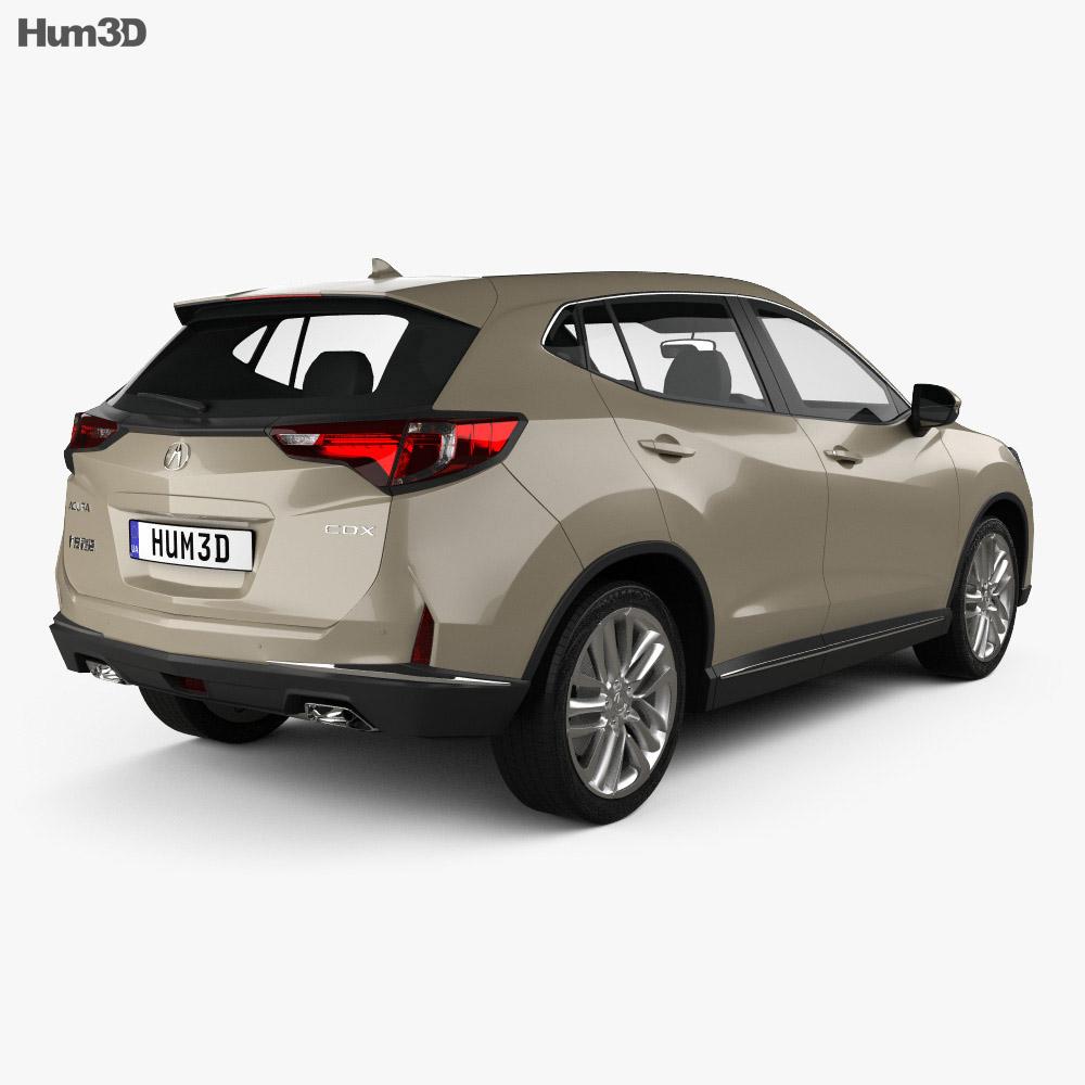 Acura CDX 2016 3d model