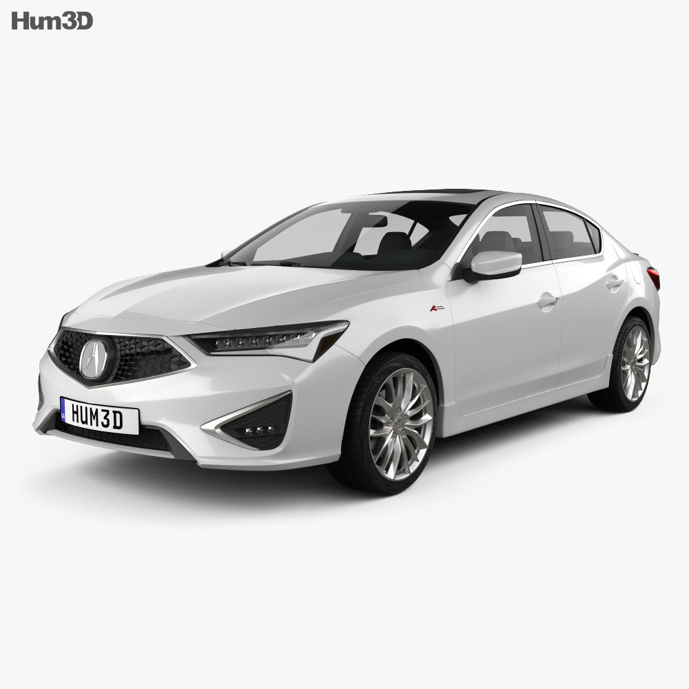 Acura ILX A-spec 2019 3d model
