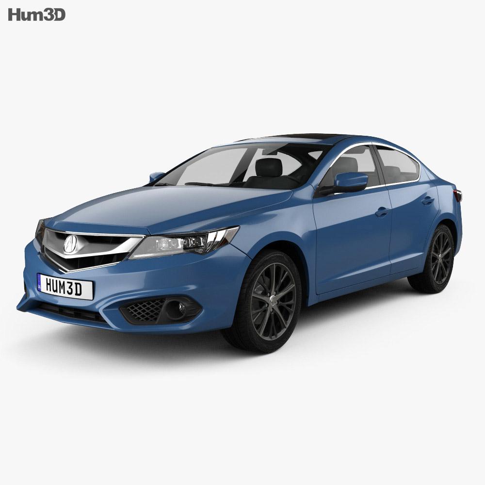 Acura ILX (DE) 2016 3D Model