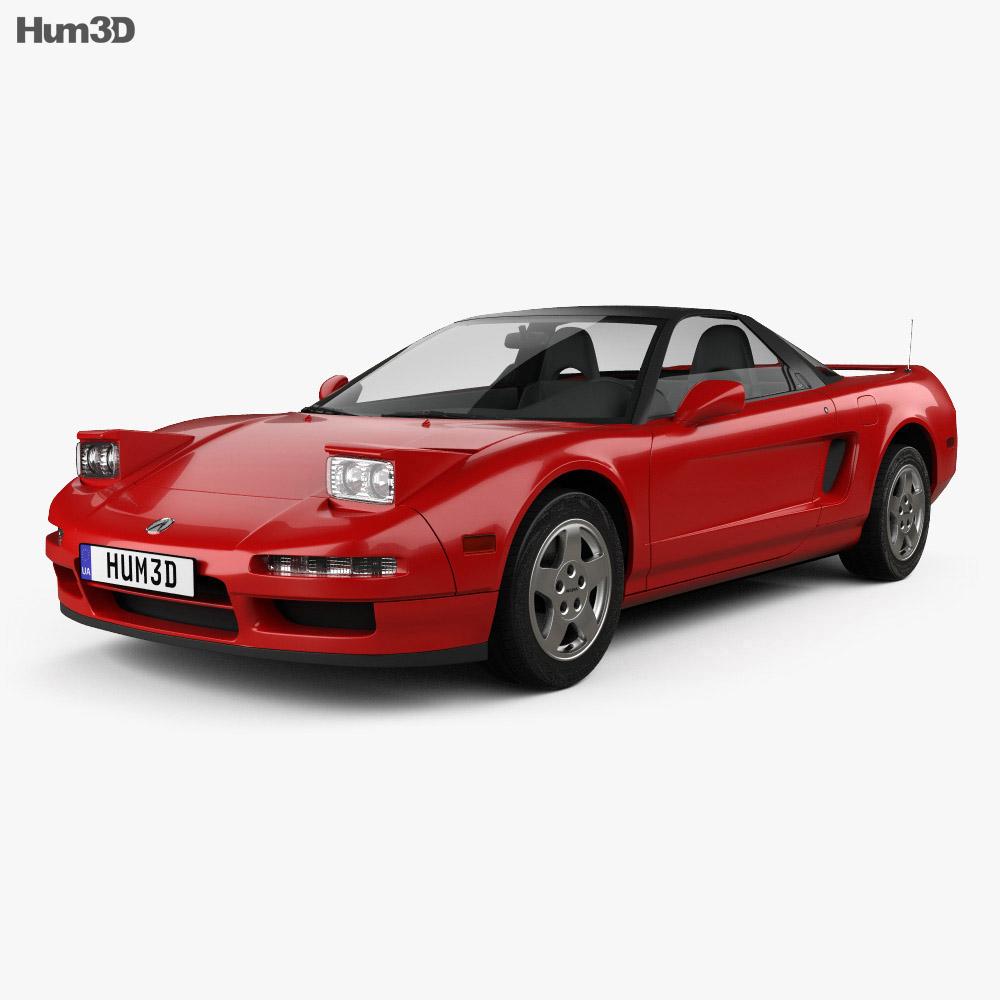 Acura NSX 1990 3D Model