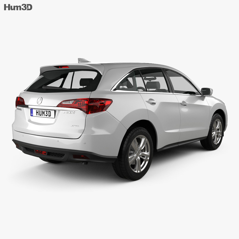 Acura RDX RU-spec 2014 3D Model