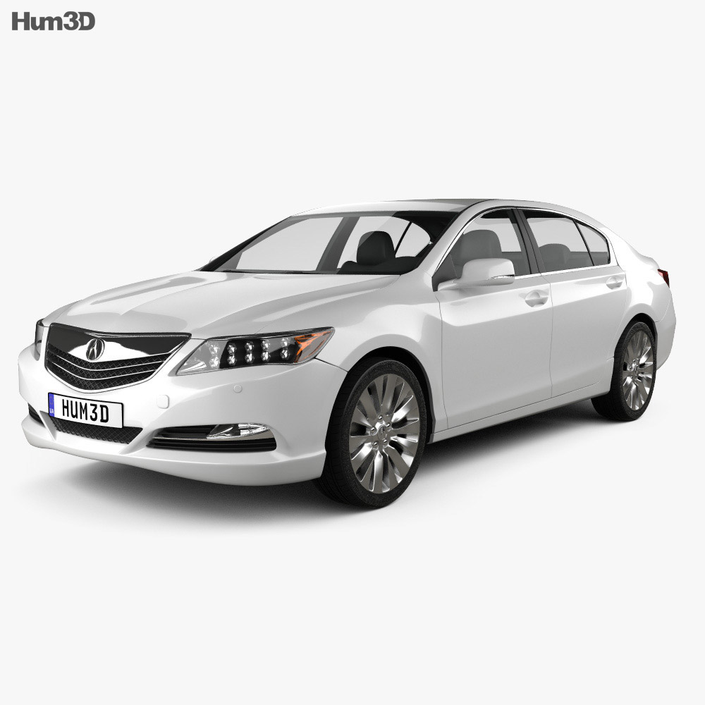 Acura Rlx: Acura RLX 2013 3D Model