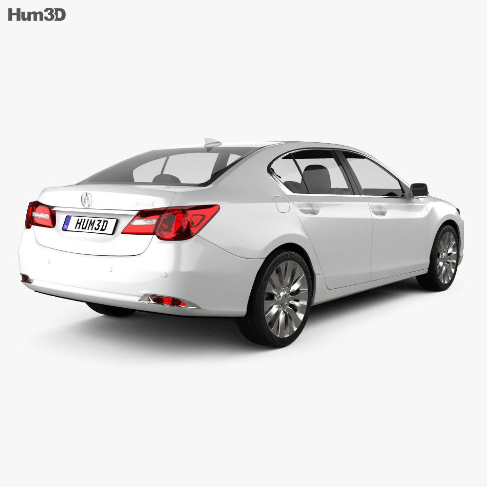 Acura RLX 2013 3d model