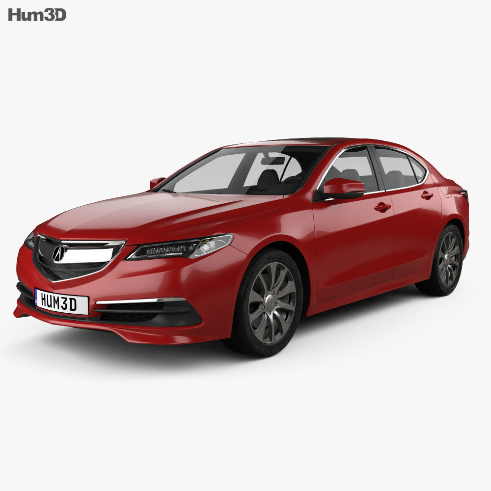 Acura TLX 2014 3D Model