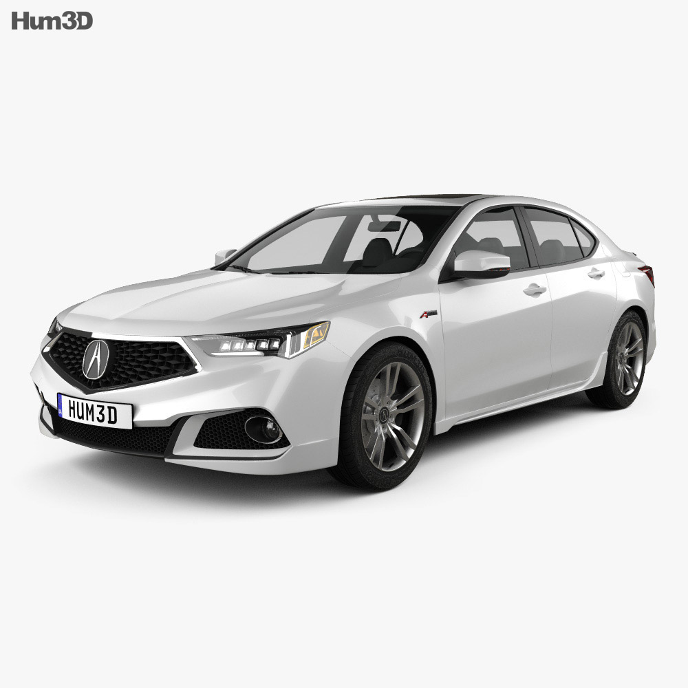 Acura TLX A-Spec 2017 3d model