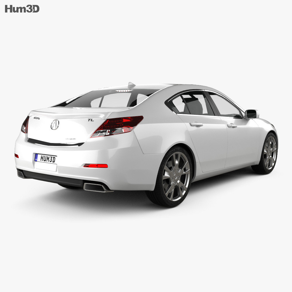 Acura TL 2012 3d model