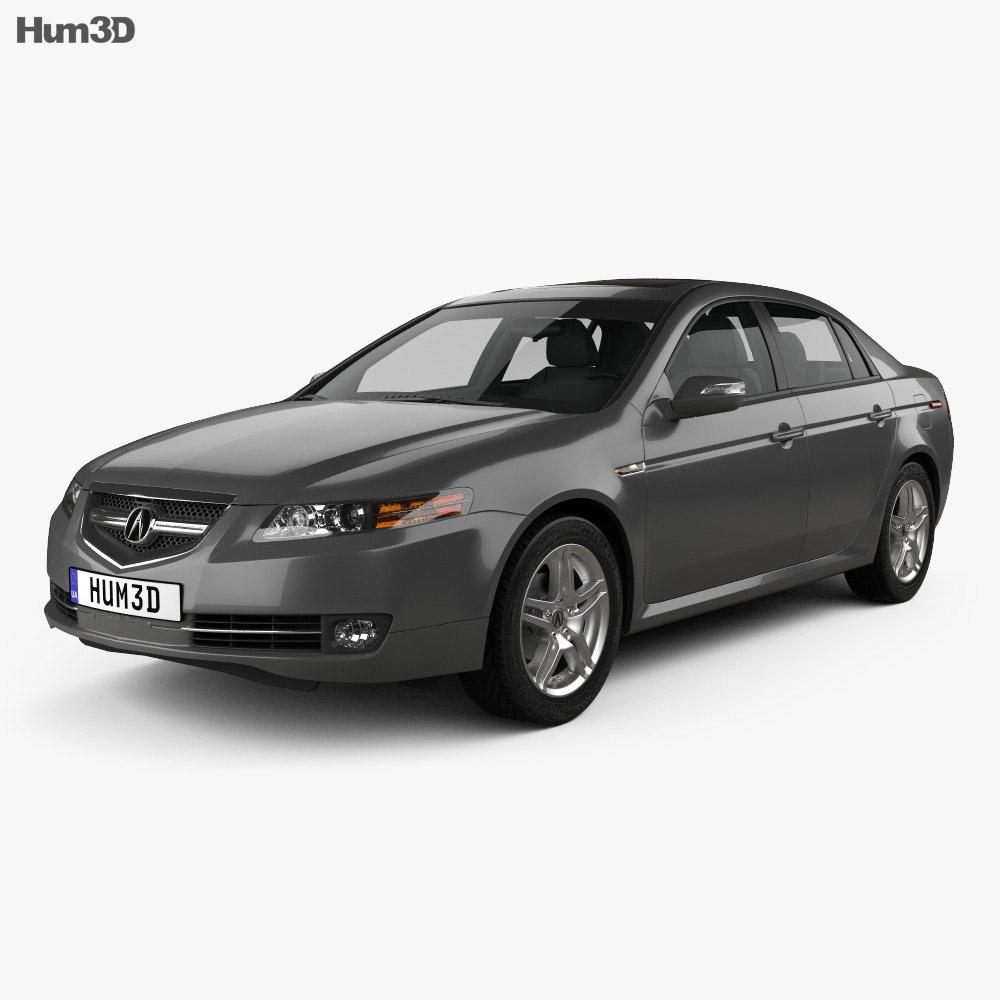 Acura TL 2007 3D Model
