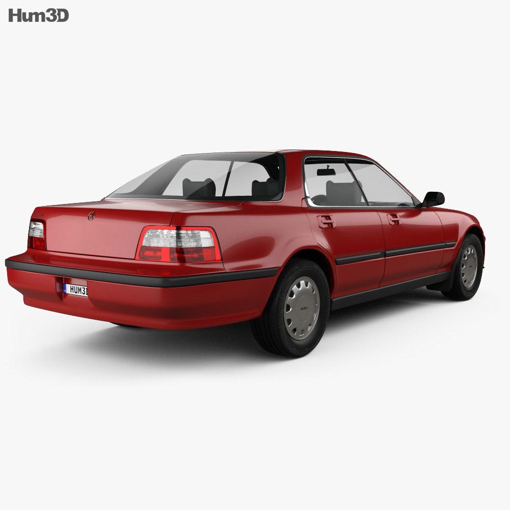 Acura Vigor 1991 3d model