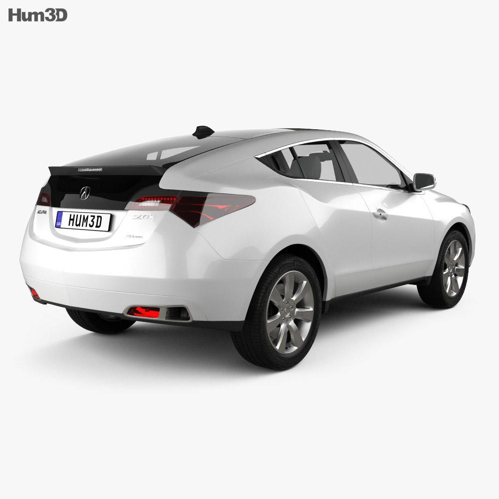 Acura ZDX 2012 3D Model