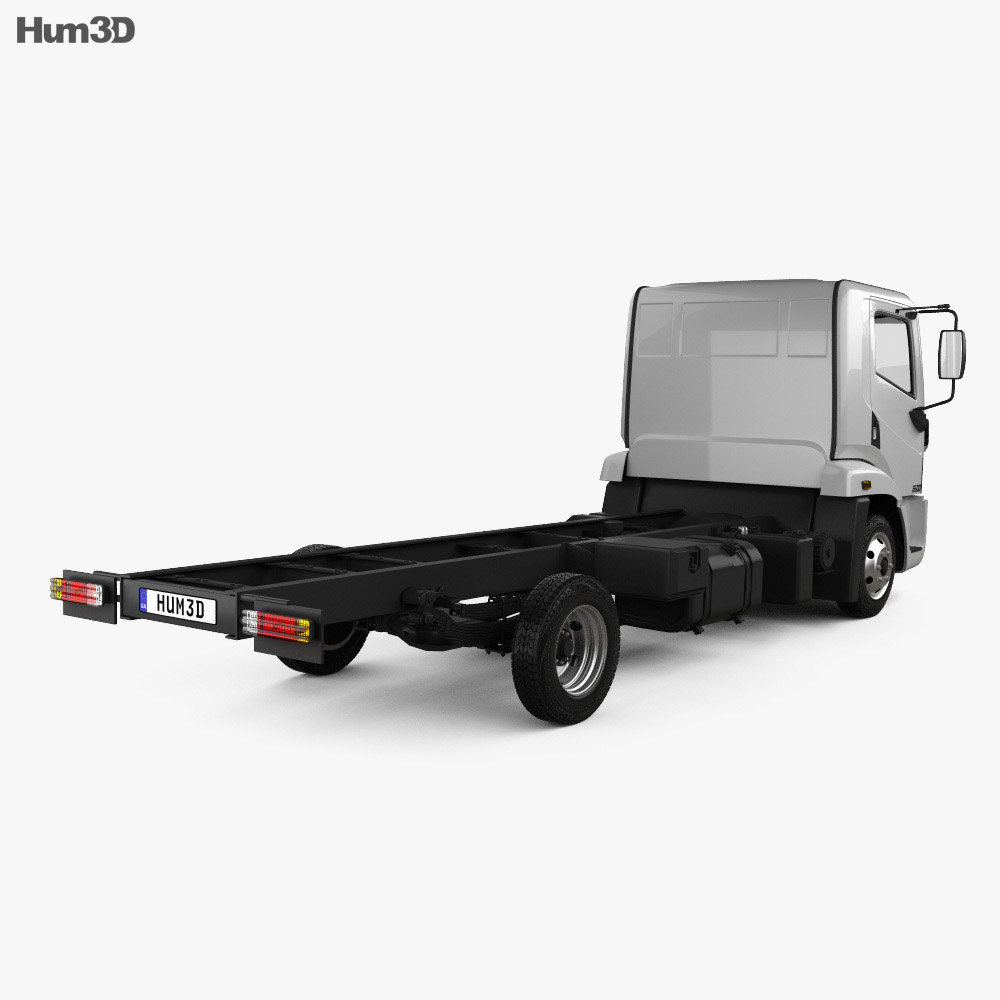 Agrale 6500 Chassis Truck 2012 3d model