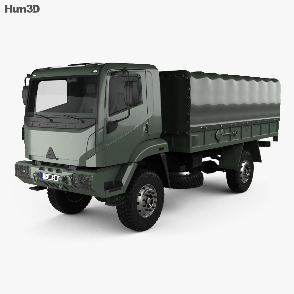 Agrale Marrua AM 41 VTNE Truck 2013 3d model