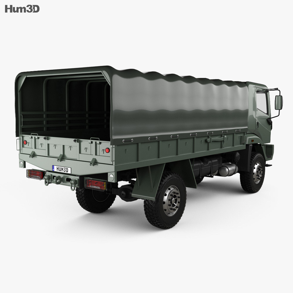 Agrale Marrua AM 41 VTNE Truck 2013 3d model