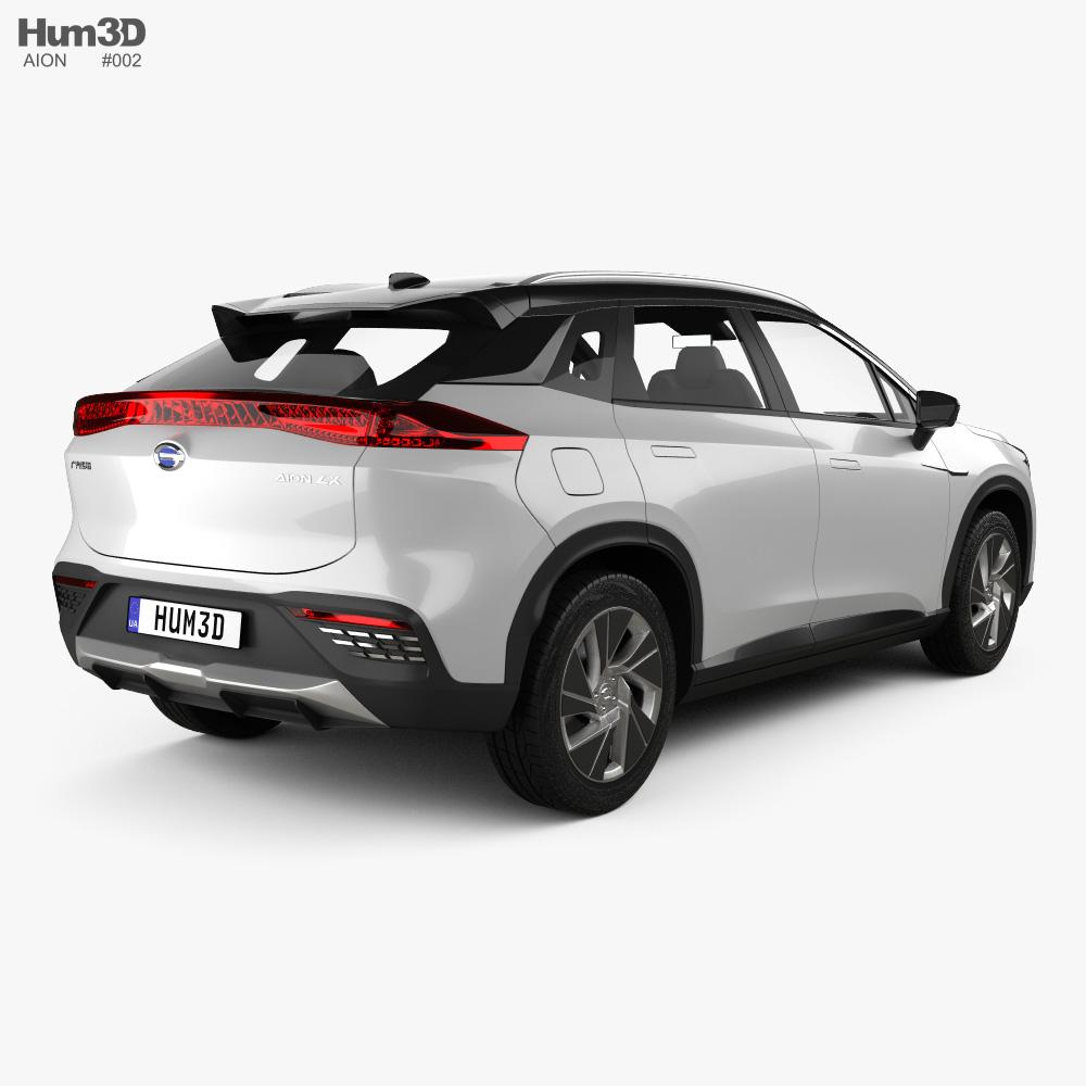 Aion LX 2020 3d model