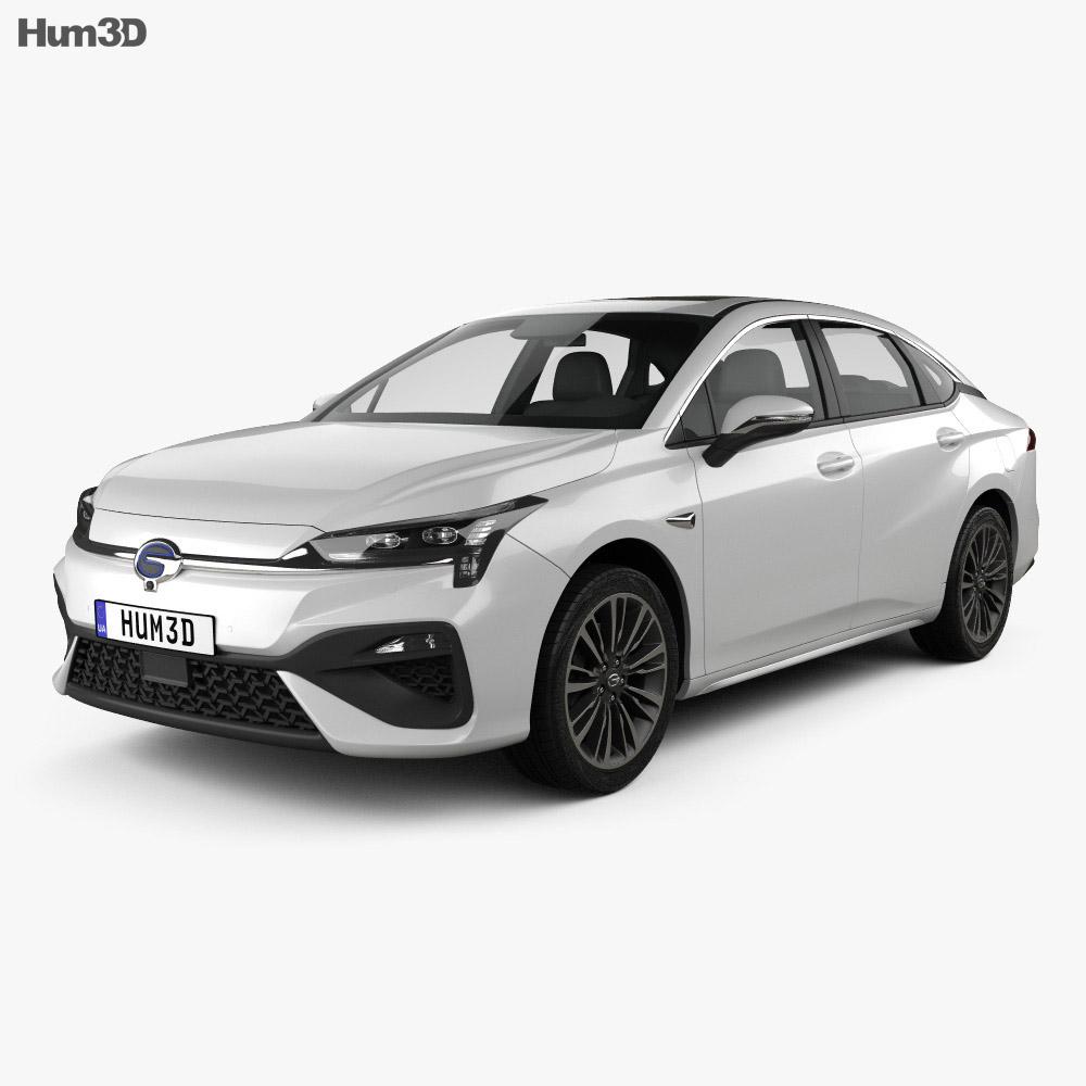 Aion S 2019 3d model