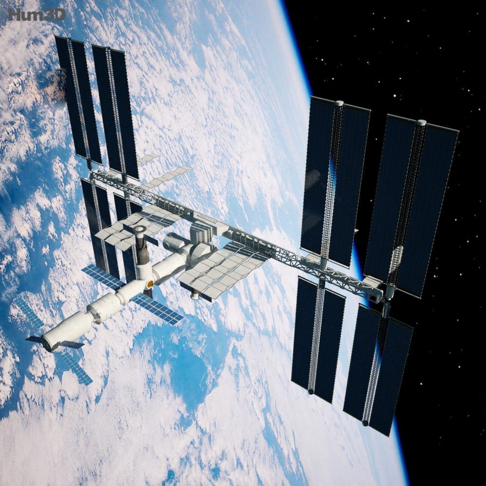 3d model international space station - photo #4