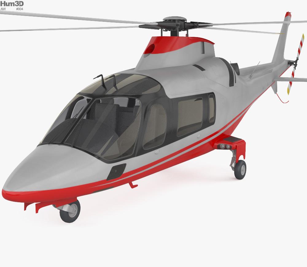 AgustaWestland AW109 3d model