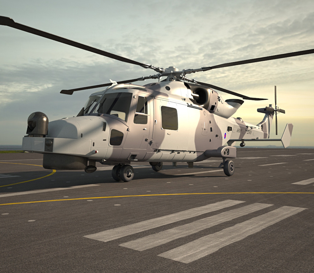 AgustaWestland AW159 Wildcat 3d model