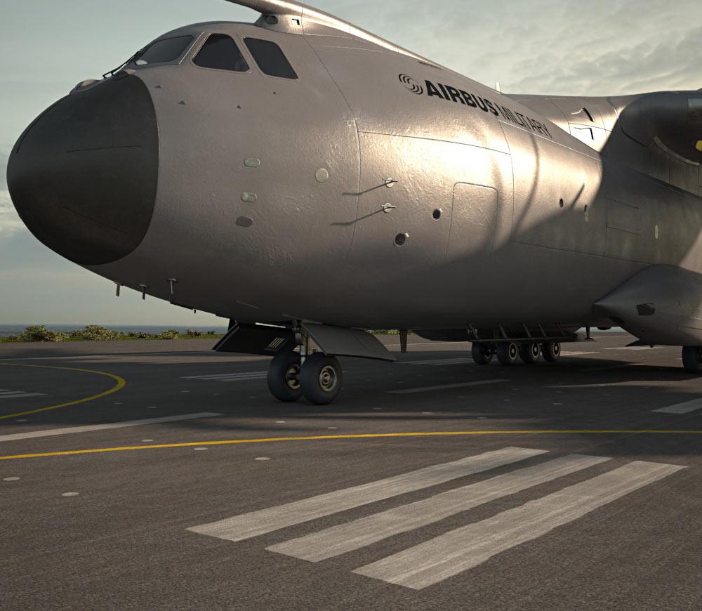 Airbus A400M Atlas 3d model