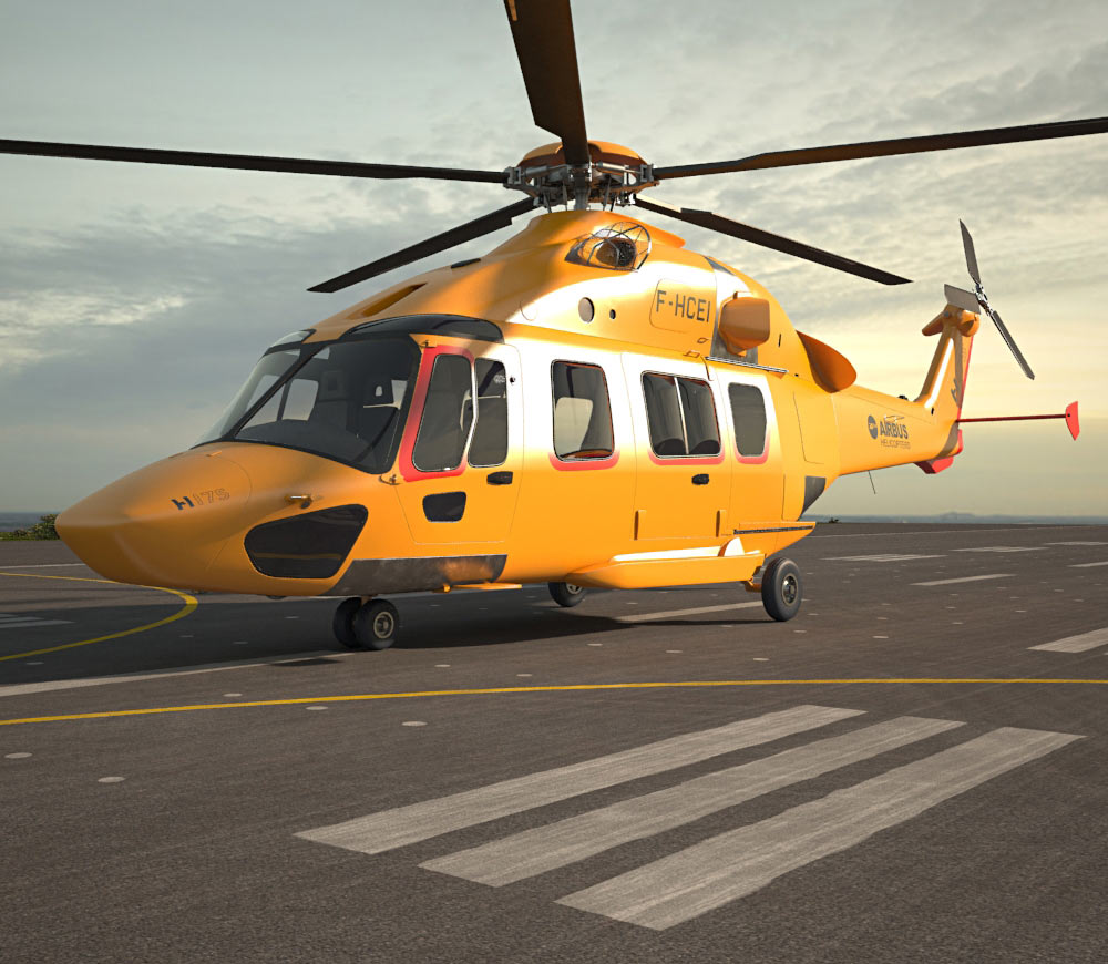 Airbus Helicopters H175 3d model