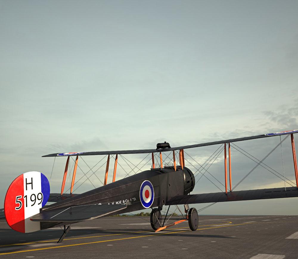 Avro 504 3d model