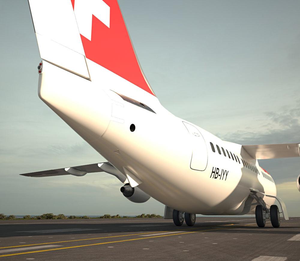 British Aerospace 146 3d model