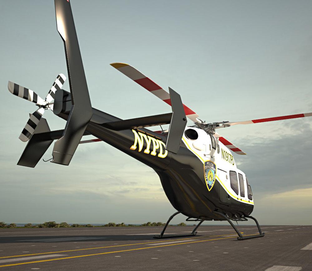 Bell 429 GlobalRanger 3d model