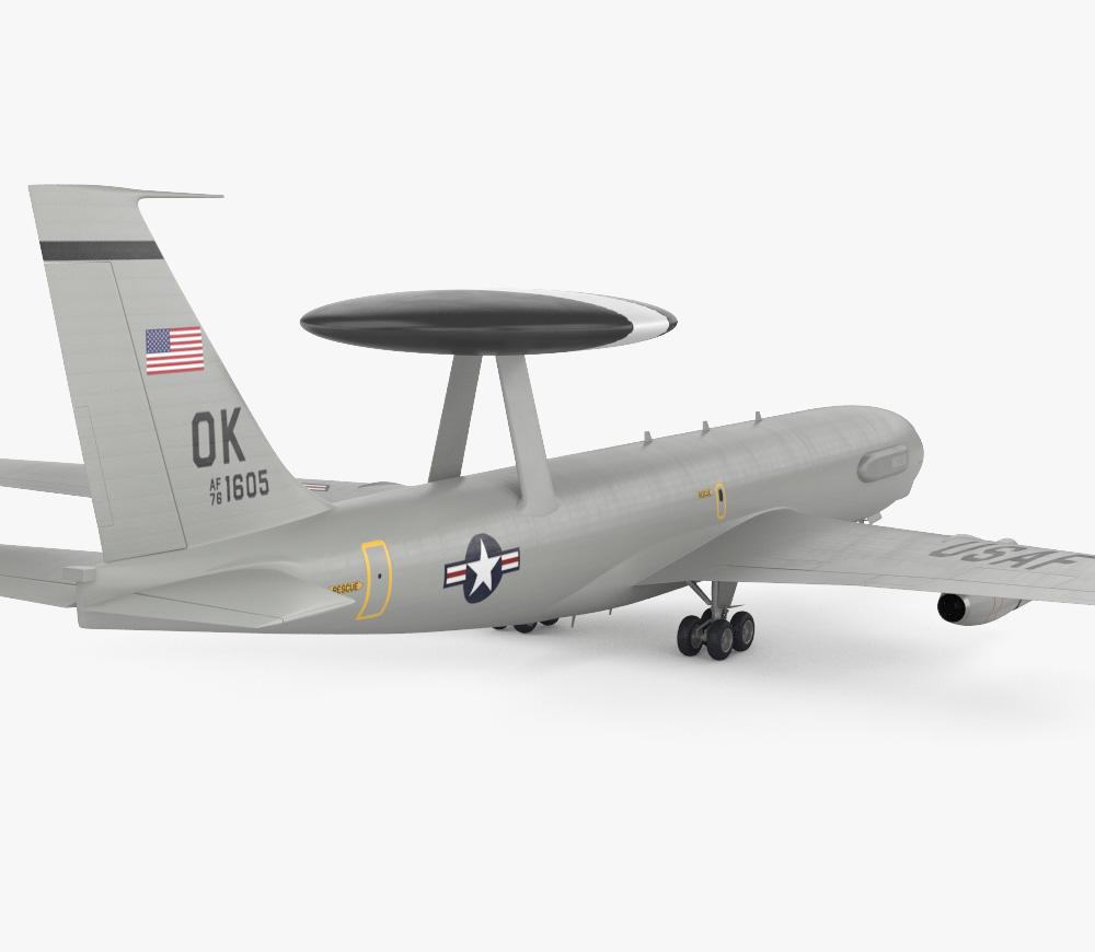 Boeing E-3 Sentry 3d model