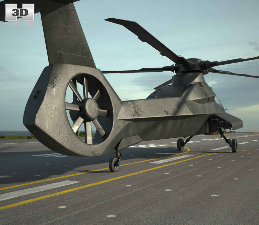 Boeing Sikorsky RAH-66 Comanche 3d model
