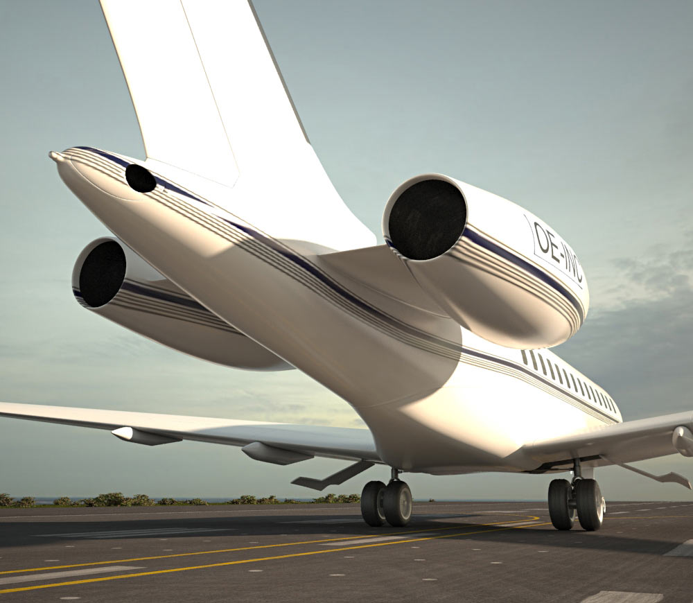 Bombardier Global Express 3d model