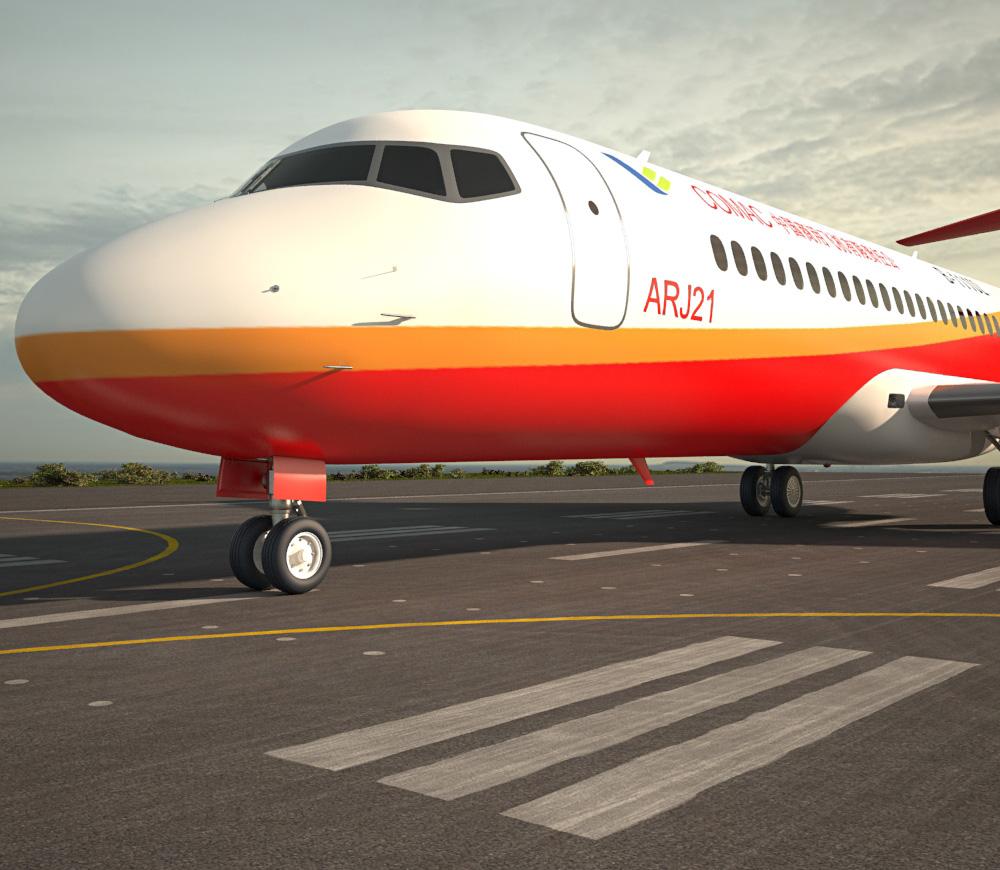 Comac ARJ21 3d model